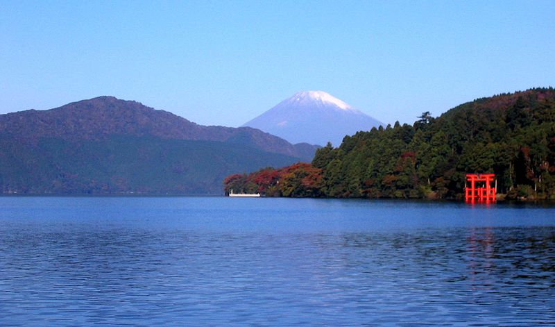Winter at Lake Kawaguchiko
