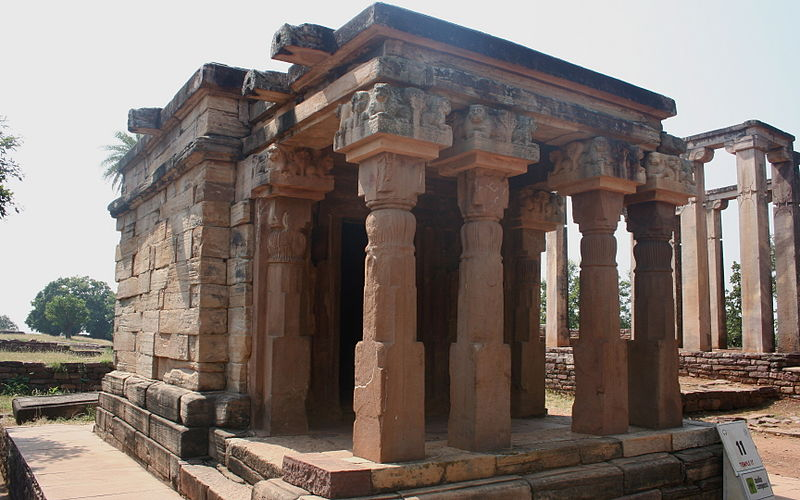 Temple 11 is built during the Gupta period