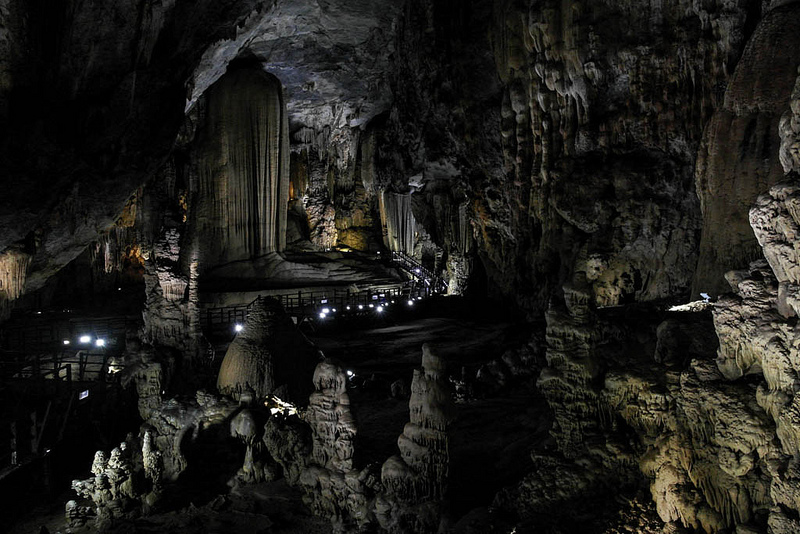Inside the paradise cave