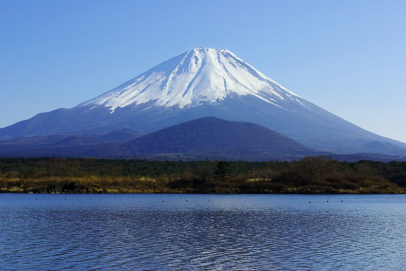 Mount Fuji and the five lakes