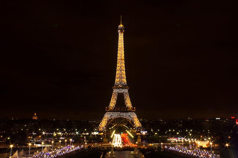 Stunning world famous night scenery