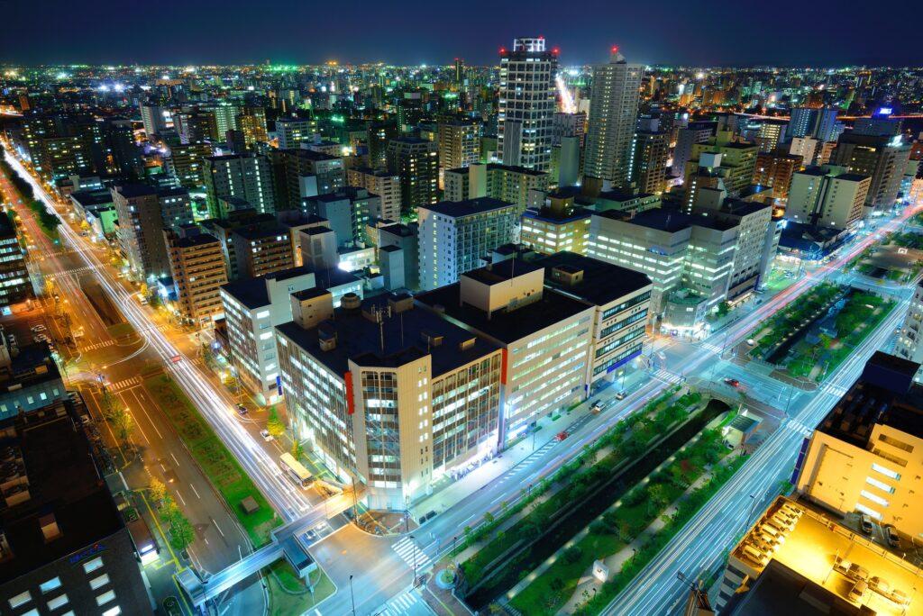 Downtown Sapporo